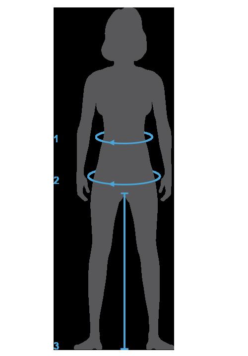Hilfe zum Messen der Größen am eigenen Körper - Adidas Unterteile Herren