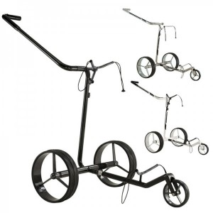 JuCad Carbon Drive Classic E-Trolley - aus der Serie JuCad Golf Trolleys aus Carbon