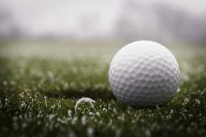 Golfen im Winter