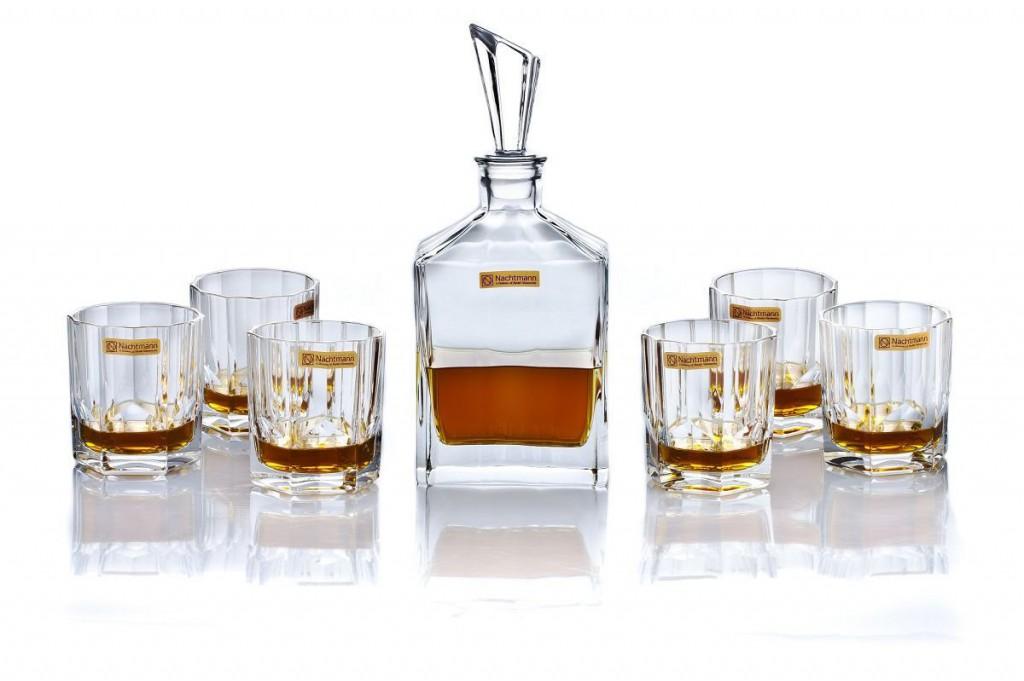 nachtmann whiskykaraffe set