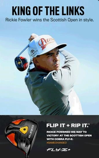 King of the Links - Gewonnen: Rickie Fowler
